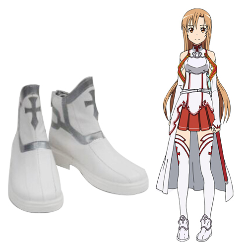 Sword Art Online Asuna Yuuki Cosplay Shoes