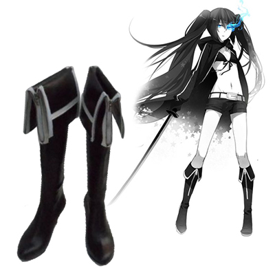 Vocaloid Black★Rock Shooter Faschings Stiefel Cosplay Schuhe