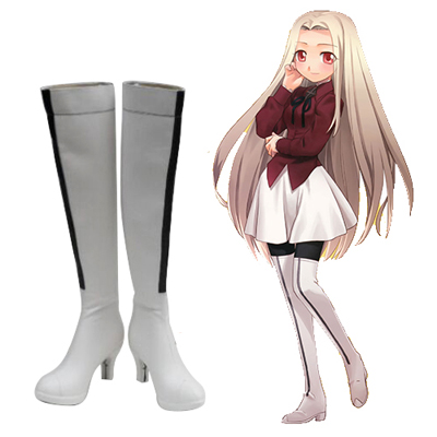 Fate/stay night Irisviel von Einzbern Cosplay Sko Karneval Støvler