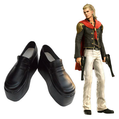 Final Fantasy Type-0 King Cosplay Scarpe Carnevale