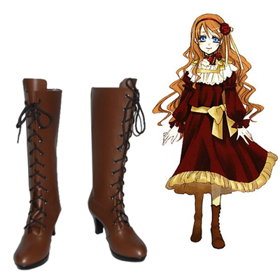 Black Butler Ciel Phantomhive Women Faschings Stiefel Cosplay Schuhe