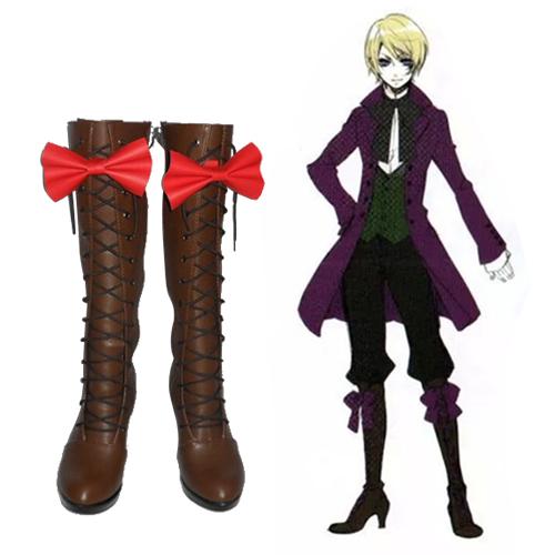 Black Butler Alois Trancy Faschings Stiefel Cosplay Schuhe