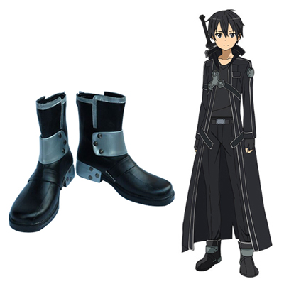Sword Art Online Kirito Faschings Stiefel Cosplay Schuhe