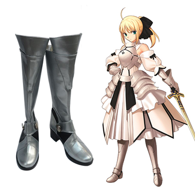 Fate/stay night Saber Chaussures Carnaval Cosplay
