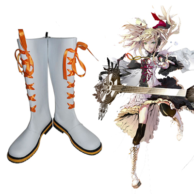 Vocaloid Kagamine Rin Len Cosplay Shoes