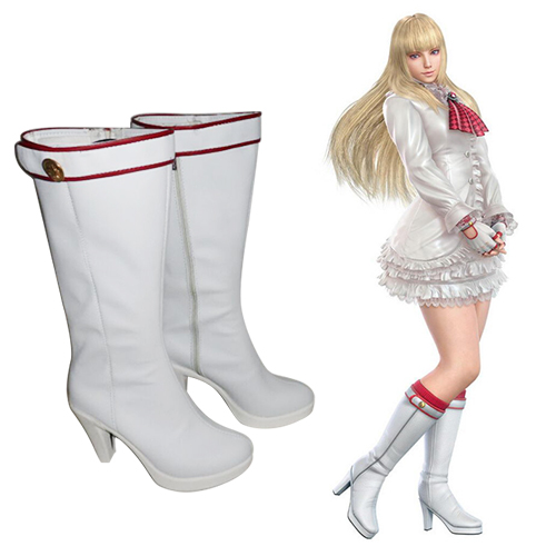 Tekken 6 LILI Cosplay Shoes