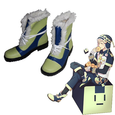 Dramatical Murder Noiz Round Flat Cosplay Shoes UK