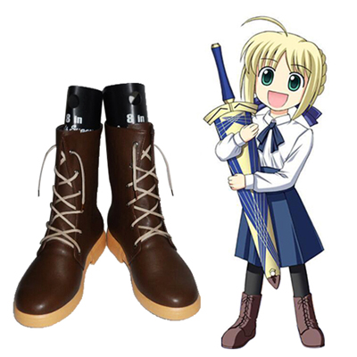 Fate/stay night Saber Arthur Cosplay Scarpe Carnevale