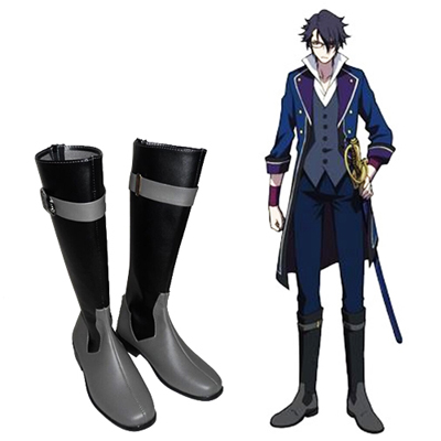K Fushimi Saruhiko Male Cosplay Shoes UK