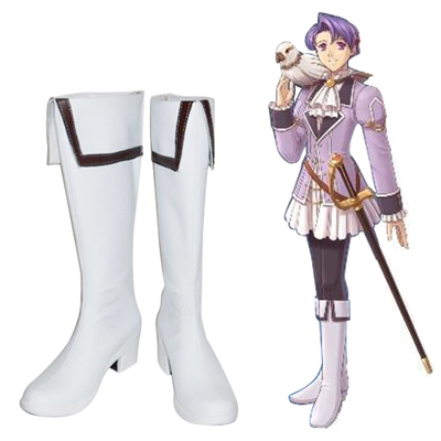 The Legend of Heroes: Trails in the Sky Klose Rinz Chaussures Carnaval Cosplay