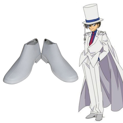 Magic Kaito Kid the Phantom Thief Chaussures Carnaval Cosplay