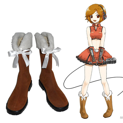 Vocaloid Meiko Cosplay Shoes