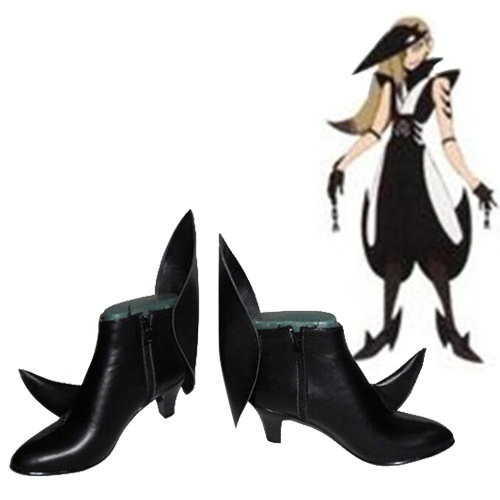 Katanagatari Kuizame Maniwa Cosplay Shoes NZ