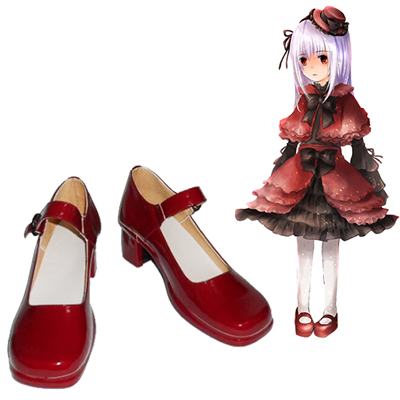 Zapatos K Kushina Anna Cosplay Botas