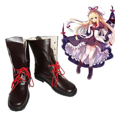 Zapatos Touhou Project Yakumo Yukari Cosplay Botas