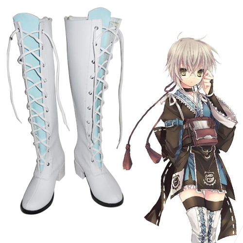 Touhou Project Morichika Rinnosuke Chaussures Carnaval Cosplay