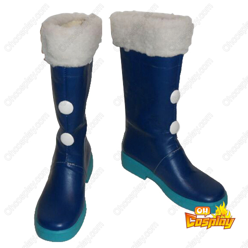 Vocaloid Snow Hatsune Faschings Stiefel Cosplay Schuhe