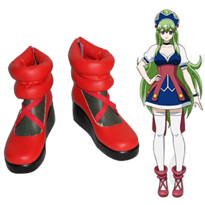 Ixion Saga DT Marianderu Cosplay Shoes