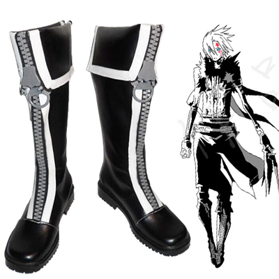 D.Gray-man Allen Walker Cosplay Shoes