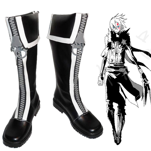 D.Gray-man Allen Walker Cosplay Laarzen