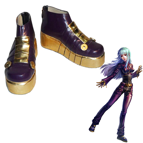 The King of Fighters Kula Diamond Faschings Stiefel Cosplay Schuhe