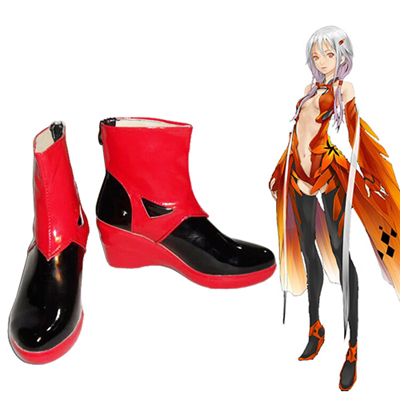 Zapatos Guilty Crown Yuzuriha Inori Cosplay