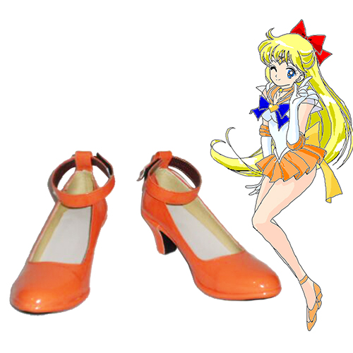 Sailor Moon Minako Aino Faschings Stiefel Cosplay Schuhe