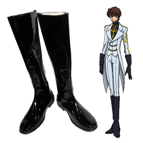 Code Geass Suzaku Kururugi Cosplay Shoes