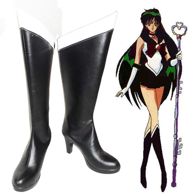 Sailor Moon Meiou Setsuna Faschings Stiefel Cosplay Schuhe