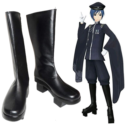 Zapatos Vocaloid Kaito Thousand Cherry Cosplay Botas