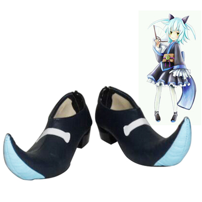 Problem Children Are Coming from Another World, Aren't They? Shiro Yasha Cosplay Shoes UK