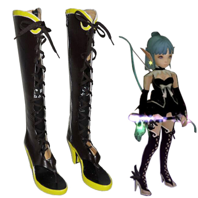 Dragon Nest Archer Chaussures Carnaval Cosplay