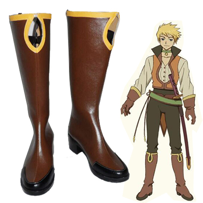 Tales of the Abyss Guy Cecil Cosplay Karnevál Cipő