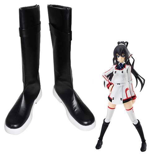 Infinite Stratos Shinonono Houki Faschings Stiefel Cosplay Schuhe