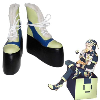 Zapatos Dramatical Murder Noiz increased version (10cm) Cosplay Botas