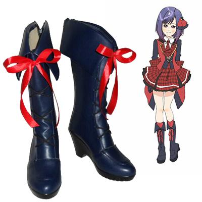 AKB0048 Oshima Yuko Atsuko Maeda Cosplay Sko Karneval Støvler