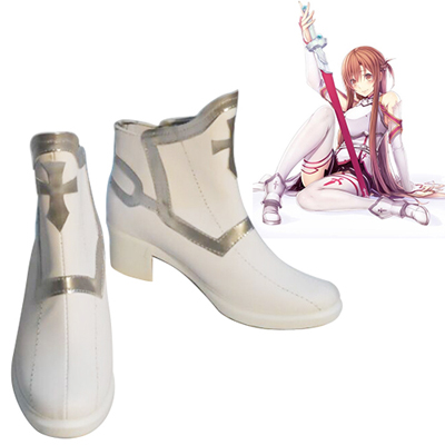 Sword Art Online SAO Asuna Cosplay Shoes