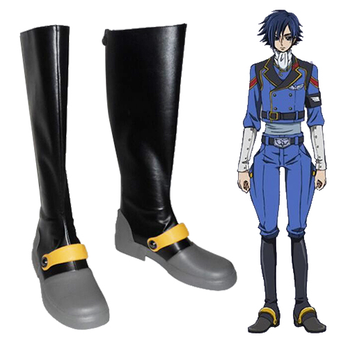 Code Geass Gaiden Akito Chaussures Carnaval Cosplay