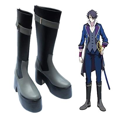Zapatos K Fushimi Saruhiko Cosplay Botas