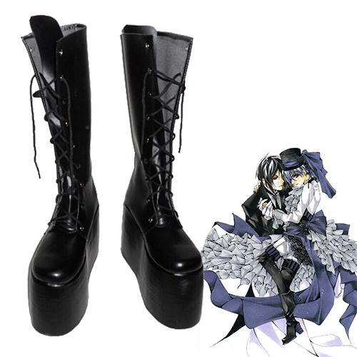 Black Butler Ciel Phantomhive Chaussures Carnaval Cosplay
