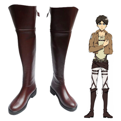 Attack on Titan Eren Yeager Cosplay Shoes UK
