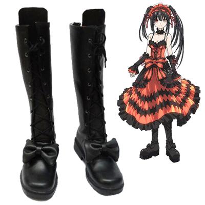 Date A Live Tokisaki Kurumi Chaussures Carnaval Cosplay