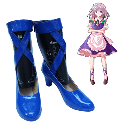 TouHou Project Izayoi Sakuya Cosplay Shoes