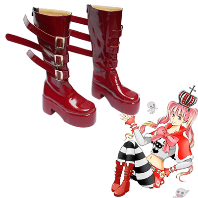 One Piece Perona Faschings Stiefel Cosplay Schuhe