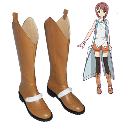 Zapatos Problem Children Are Coming from Another World, Aren't They? Kasukabe Yō Cosplay Botas