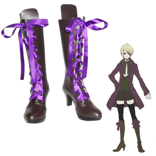Black Butler Alois Trancy Faschings Stiefel Cosplay Schuhe