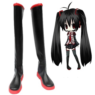 Vocaloid Zatsune Miku Cosplay Shoes