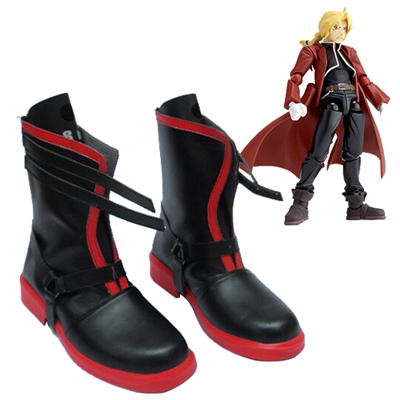 Fullmetal Alchemist Edward Elric Cosplay Shoes