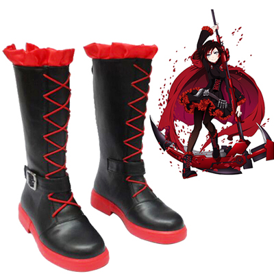 RWBY Ruby Rose Chaussures Carnaval Cosplay
