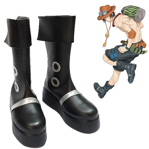 One Piece Portgas·D· Ace Faschings Stiefel Cosplay Schuhe